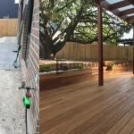 L74 - Decking and Pergola Before and After