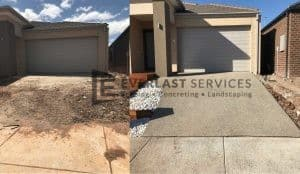 EA18 - Driveway Before and After - Concrete Type 13