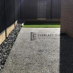 EA36 - Exposed Aggregate Backyard