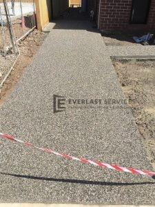 EA7 - Light Exposed Aggregate Path