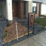 L95 -Front Landscaping and Mailbox