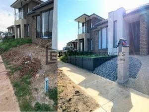 L102 - Landscaping Before and After