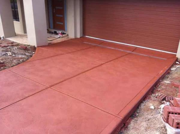 Painted Concrete Brown
