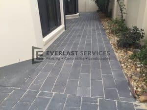 L56 - Brick Paving Over Sand