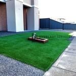 L96 - Synthetic Turf + Merbau Box