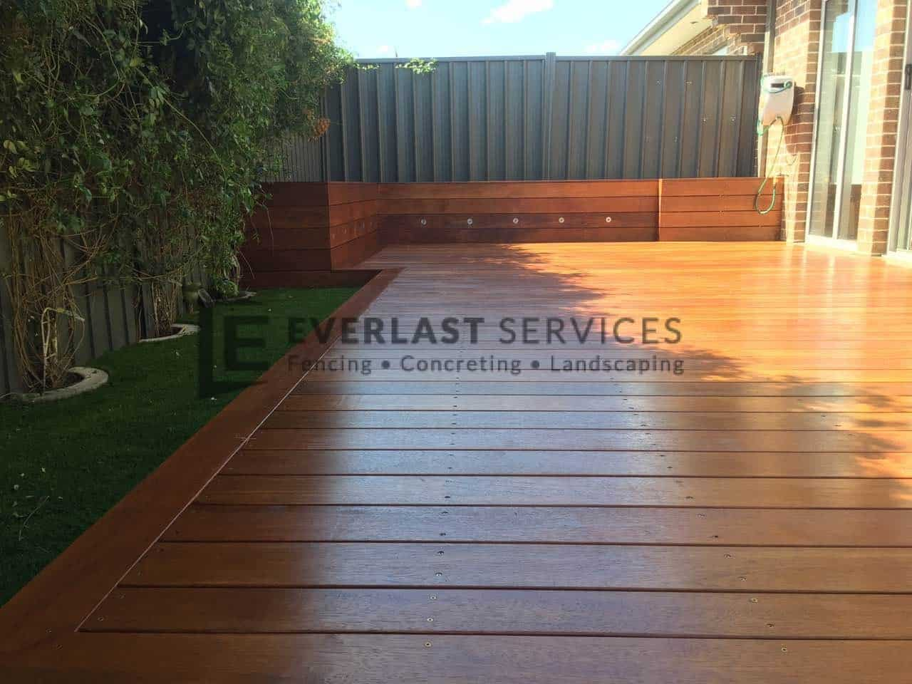 Timber decking melbourne merbau composite outdoor deck for External timber decking