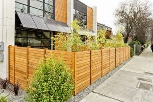 front house fence in altona