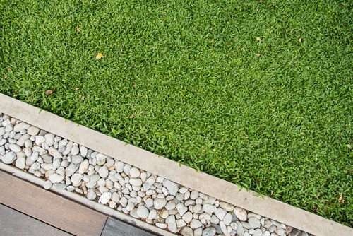 Garden Edging Concrete Garden Bed Lawn Border Edging