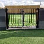 DG38 - Pattern Steel Gate