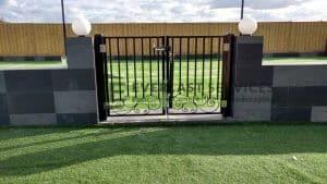 DG38 - Pattern Steel Double Gate