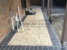 STE9 – Bushrock Stencil Concrete Path