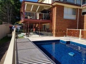 GF14 - Inground Pool Glass Fencing