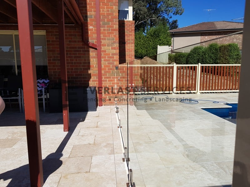 GF15 - Pool Glass Fencing