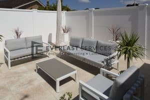 MW 19 - Patio Backyard with Outdoor Setting Backyard Fence