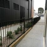 SF151 - Black Flat Top Fencing