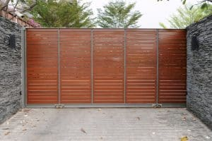 galvanised steel gate frame