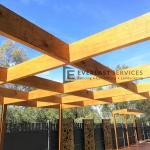 L31 - Close Up Timber Pergola