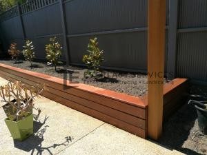 L133 - Merbau Cladding Garden Box