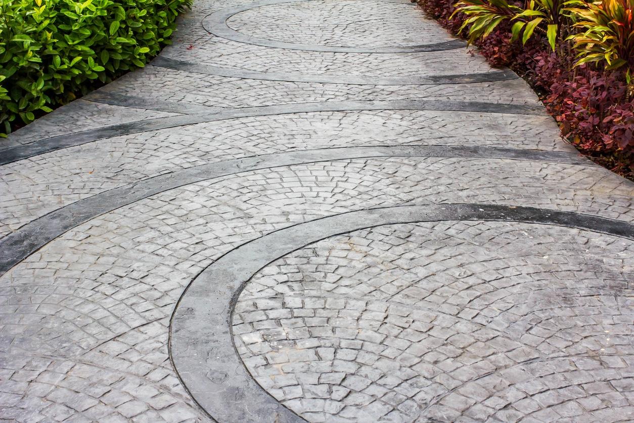 slate concrete