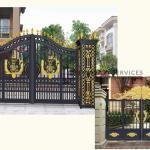 AD2 - Aluminium Art Decor Double Gate