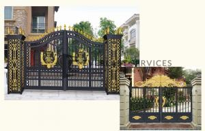 AD2 - Aluminium Art Decor Double Gate