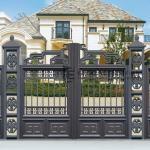 AD7 - Aluminium Art Decor Grey Fence
