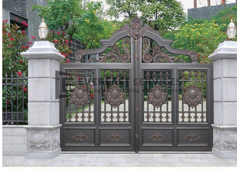 AD8 - Aluminium Art Decor Stone Fence