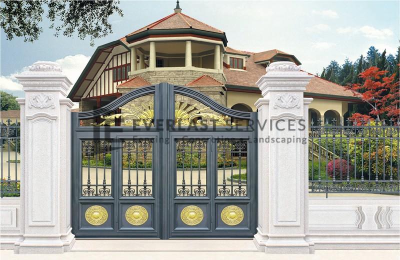 AD10 - Art Decor White Fence