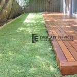 T116 - Merbau Decking with Turf