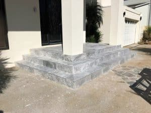 L43 - Marble Outdoor Tiling