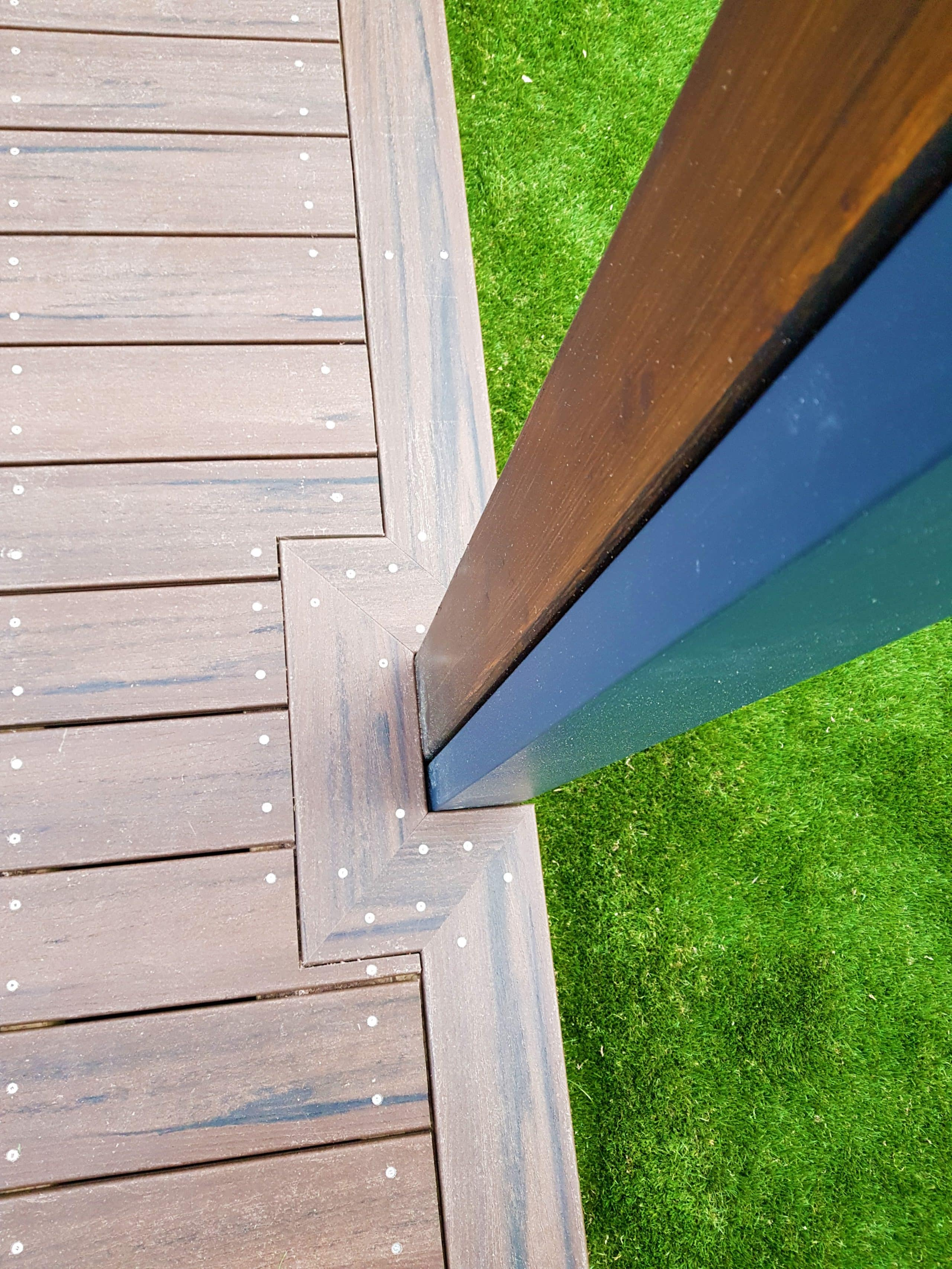 Decking Cut out Joints