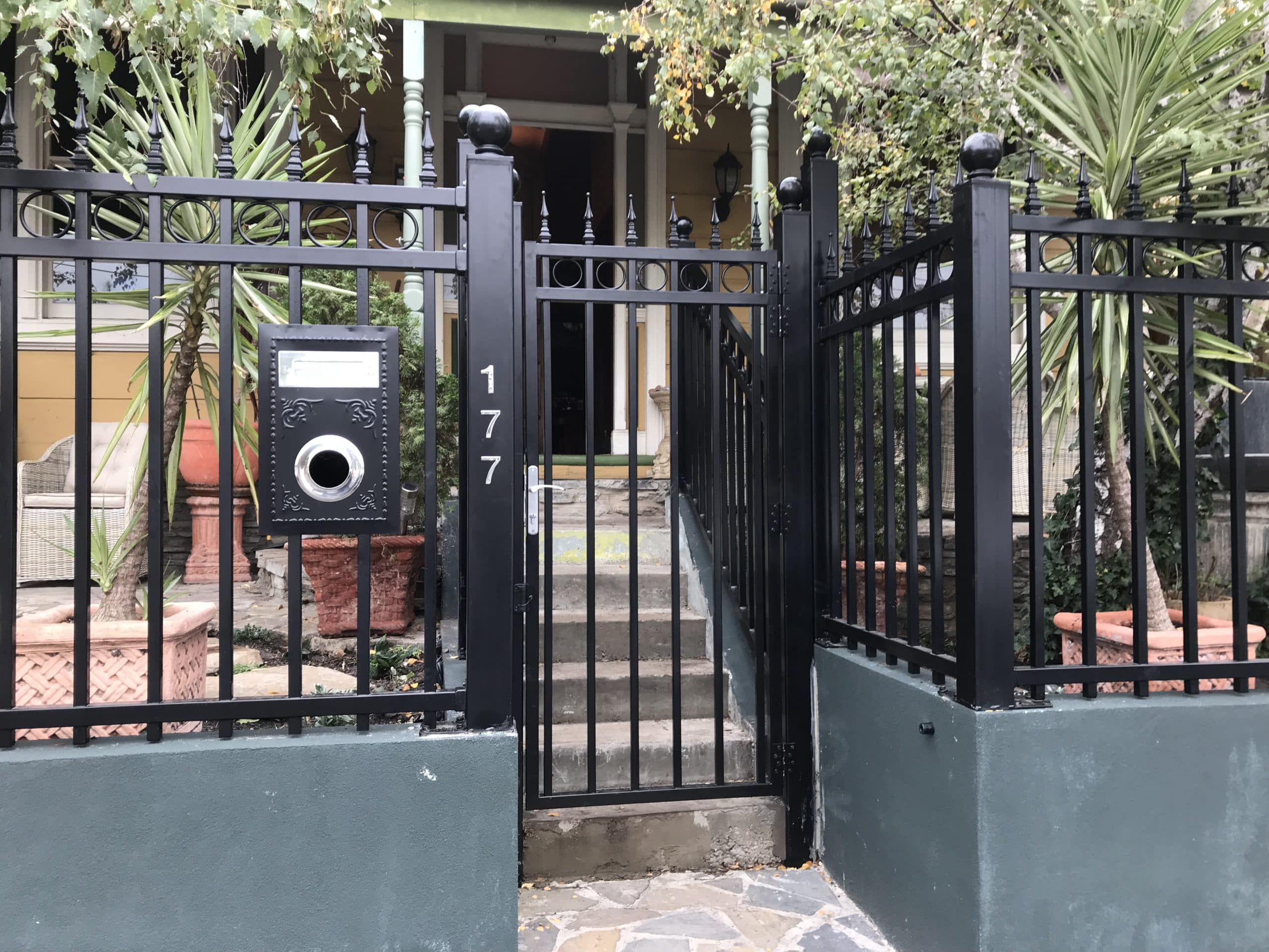 Wraught Iron Single Gate
