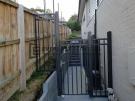 Double Bar Steel Single Gate