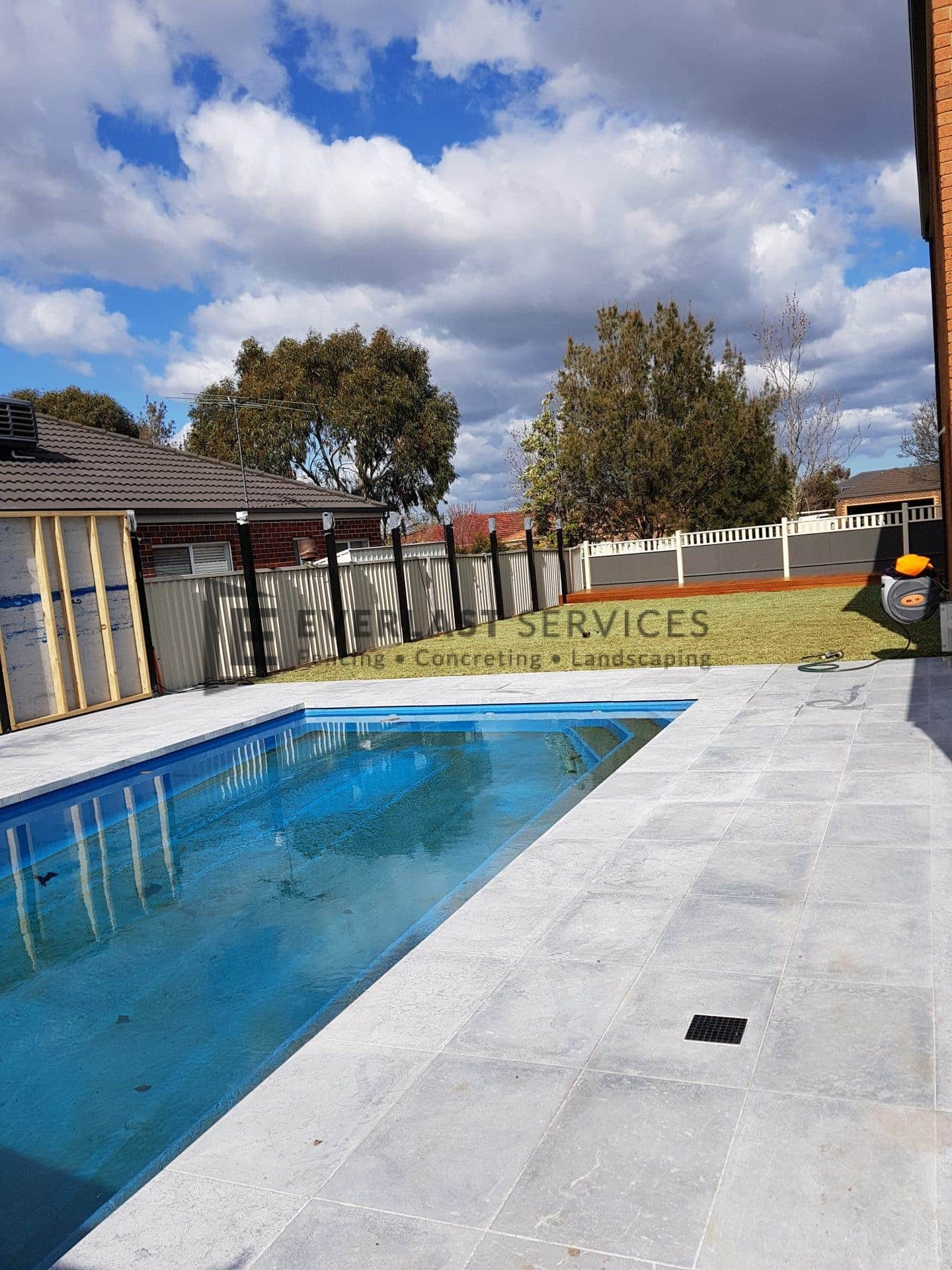 Silver Oyster Paving