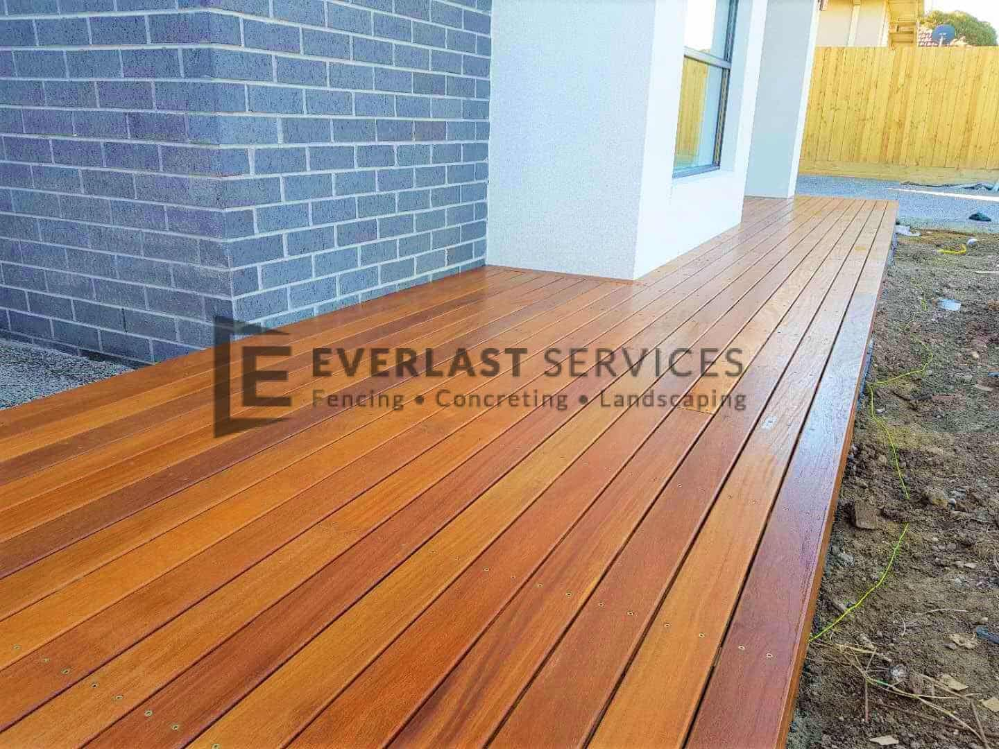 Front Path Decking