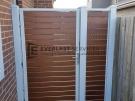 Kawila Slats Single Gate with Panel