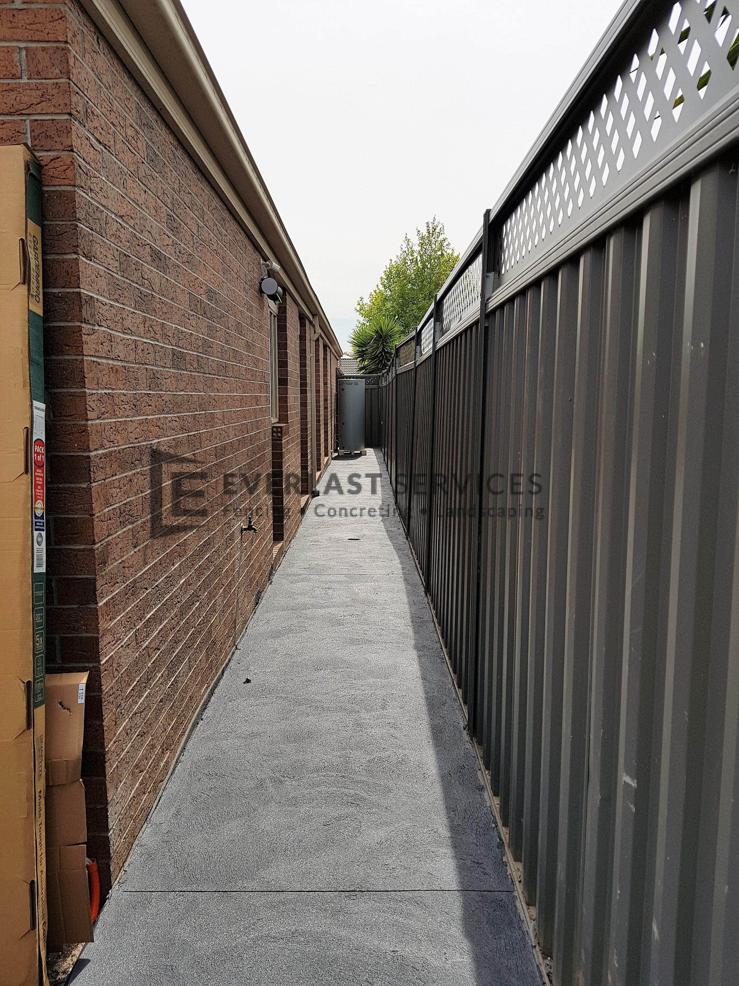 CC15 - Colour Concrete Side Path
