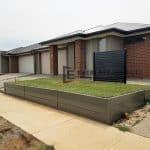 RW4 - Concrete Retaining Wall with Turf