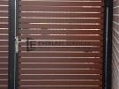 DW13 – Horizontal Aluminium slat door – Werribee