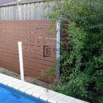 SP2 - Horizontal Slat Pool Fencing
