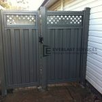 SS20 - Woodland Grey Colourbond Single Gate