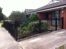 SF24 – Sideview Black Oxley Ring Fence – Altona Meadows