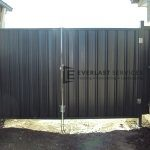 DG14 -Woodland Grey Colourbond Double Gate - Werribee