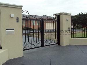 front gate design