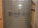 DW34 – Horizontal Steel Slats Single Gate