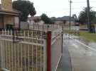 SF31 – Riversand Ring and Spear Steel Garden Fencing View 2