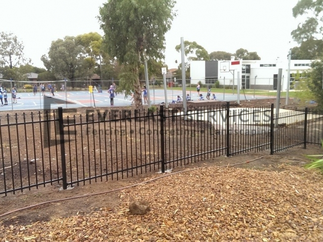 Steel Fencing Melbourne - Metal Wrought Iron Fence Panels
