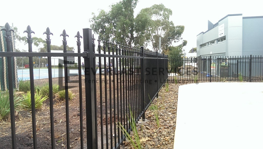 SF33 - Black Level Spear Fencing View 2 - Werribee