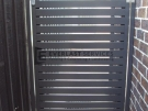 DW36 – Horizontal Steel Slats Single Gate
