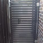 DW36 - Horizontal Steel Slats Single Gate